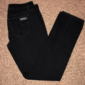 Joes Jeans Black Cigarette Skinny Jeans Wash:Tate
